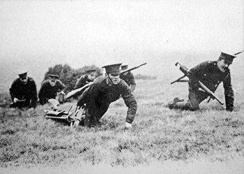 Британские солдаты во время Первой мировой войны