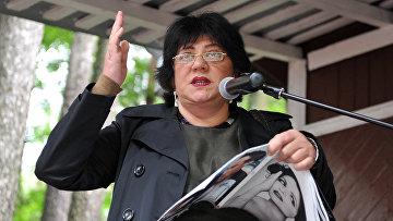 Писатель и телеведущая Татьяна Толстая