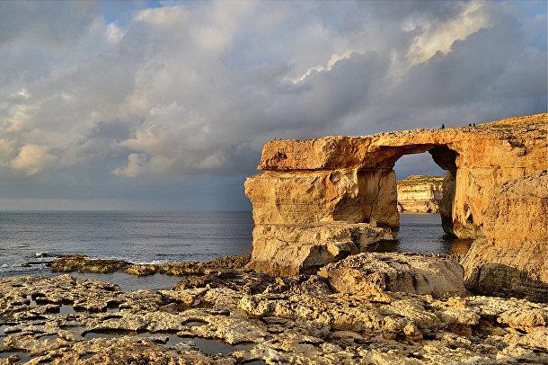 Лазурное окно на острове Гозо, Мальта