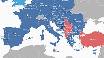 Как менялся Европейский союз