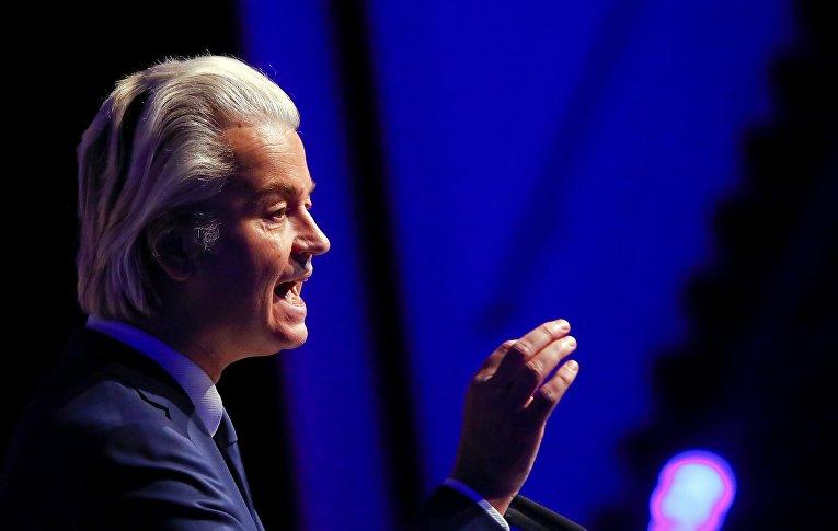 Лидер правой популистской «Партии свободы» Герт Вилдерс