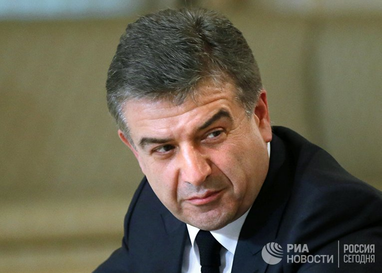 Глава правительства Армении Карен Карапетян