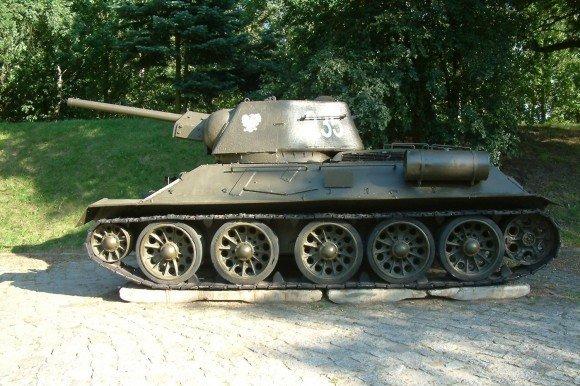 T-34, советский средний танк периода Великой Отечественной войны