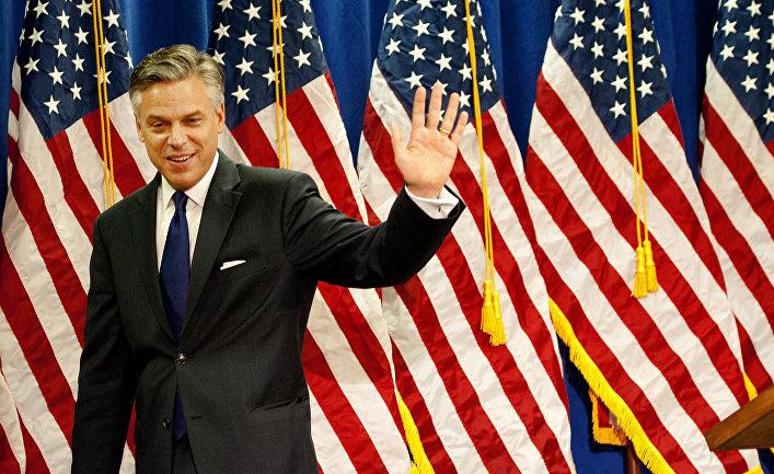 Кандидат на пост посла США в РФ Джон Хантсман