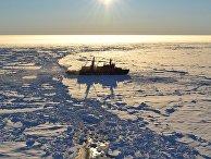 Экспедиция «Арктика-2012» на атомном ледоколе «Россия»