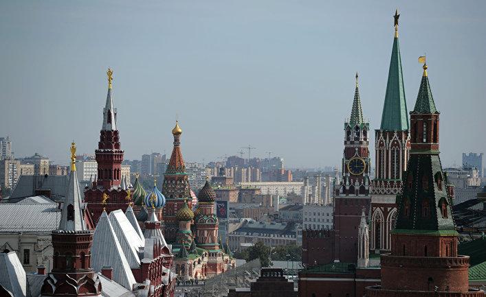 Вид на Красную площадь