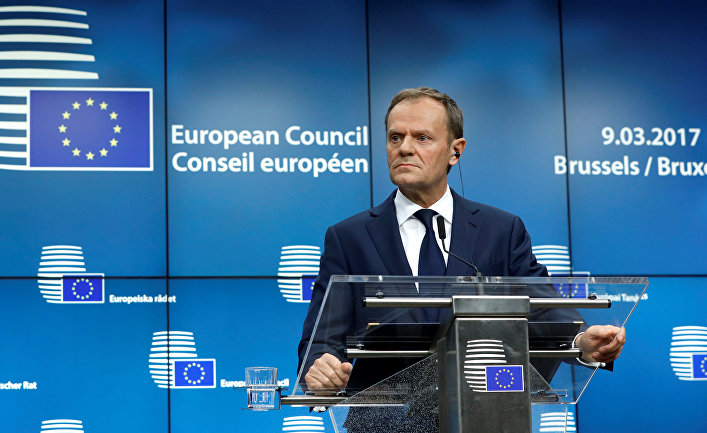 Президент Европейского совета Дональд Туск