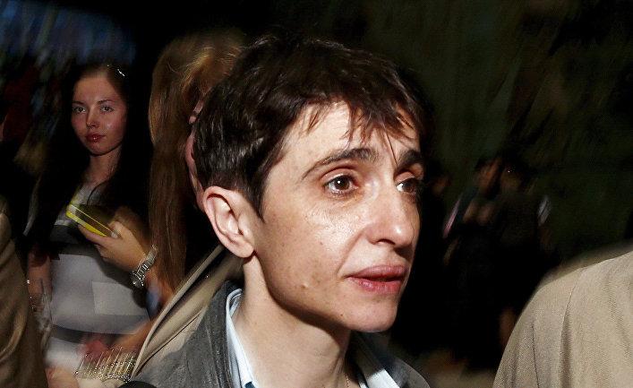 Журналист Маша Гессен