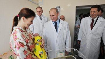 Председатель правительства РФ Владимир Путин в родоме