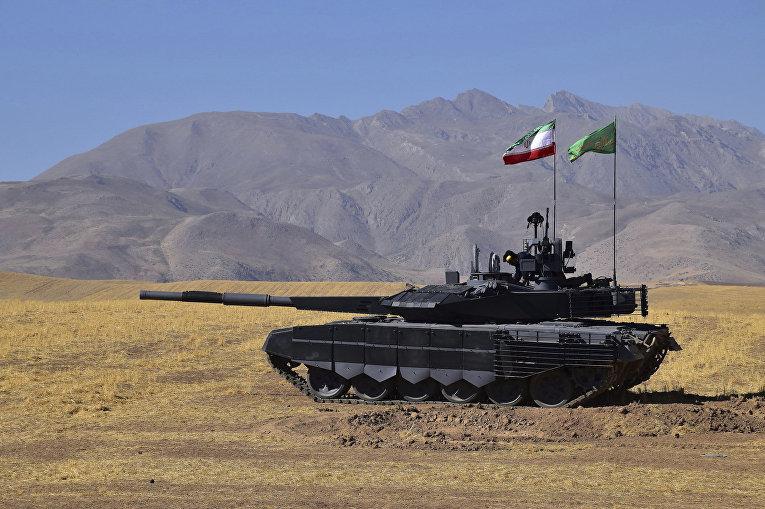 Иранский танк «Каррар»