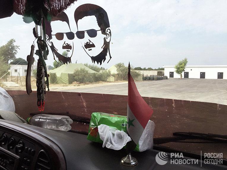"База ""Хмеймим"" в Сирии"