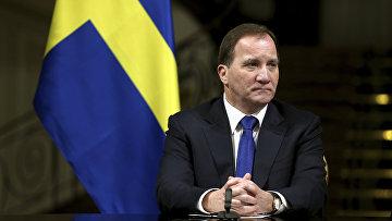 Премьер-министр Швеции Стефан Лёвен