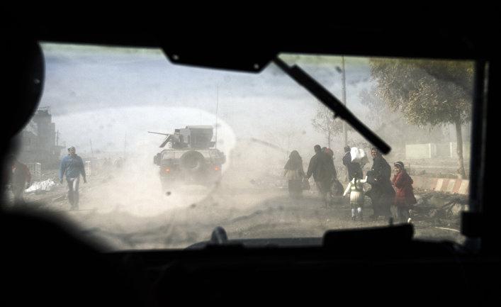 Военная техника в восточном Мосуле