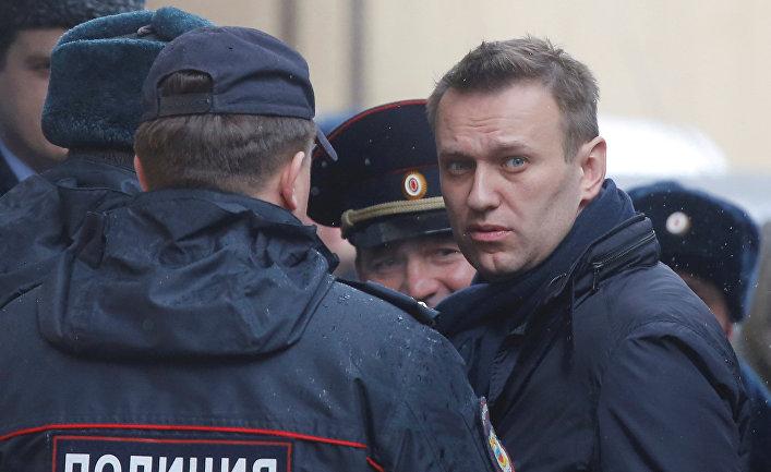 Оппозиционер Алексей Навальный, 27 марта