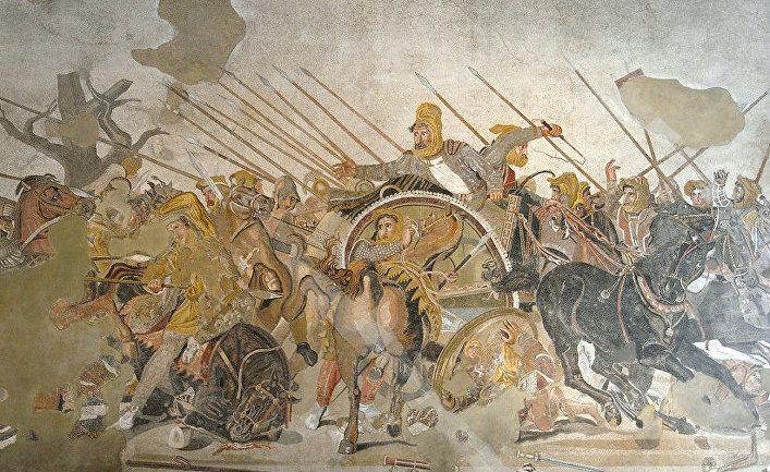 Сражение войск Александра Македонского и Дария III