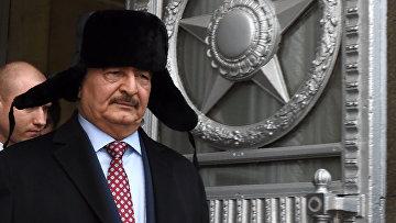 Командующий национальной армией Ливии Халифа Хафтар