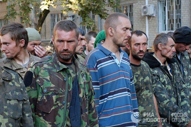 Украинские военные вышли из окружения под Иловайском