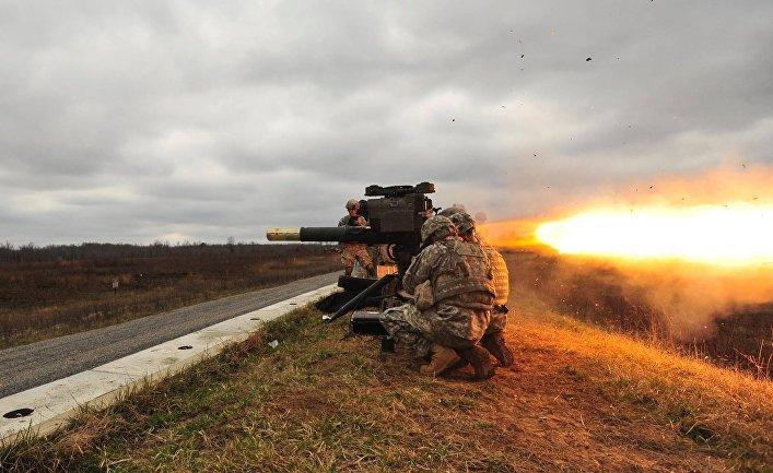 Американский тяжёлый противотанковый ракетный комплекс BGM-71 TOW