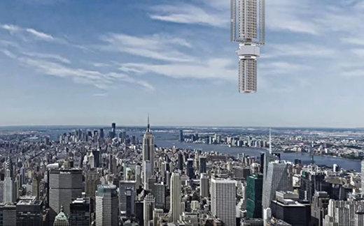 Небоскреб над Нью-Йорком