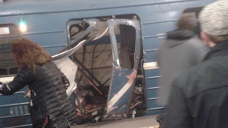 Взрыв в метрополитене в Санкт-Петербурге