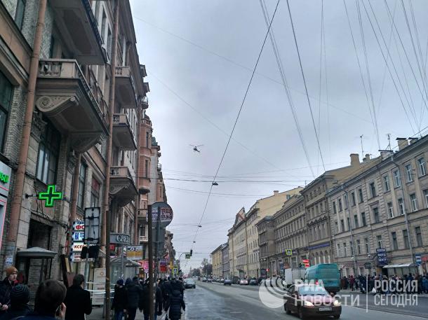 Взрыв произошел в метро Санкт-Петербурга. 3 апреля 2017