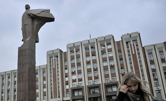 Памятник Ленину в Тирасполе, ПМР