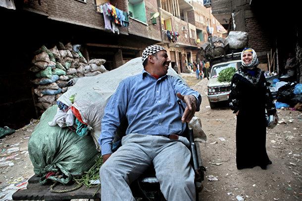 """""""Город мусорщиков"""" в Каире"""