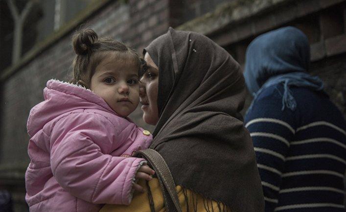 Сирийские беженцы в Стамбуле