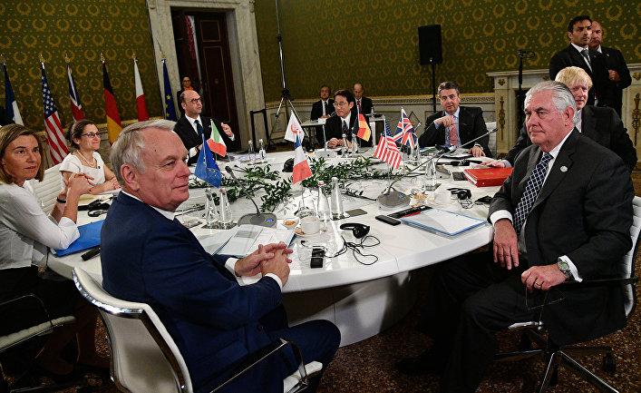 Встреча министров иностранных дел большой семерки в Лукке
