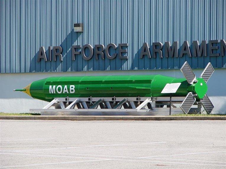 Авиационная бомба GBU-43/B MOAB