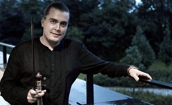 Скрипач Дмитрий Синьковский, Брюгге, 2008