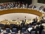 Голосование по западной резолюции по Сирии в Совбезе ООН. 12 апреля 2017