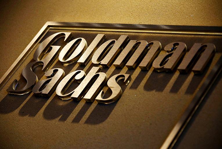 Вывеска одного из крупнейших в мире инвестиционных банков Goldman Sachs