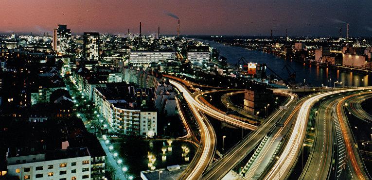 Промышленный комплекс BASF Людвигсхафен