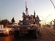 Боевики террористической группировки «Исламское государство» (запрещено в РФ) в Мосуле