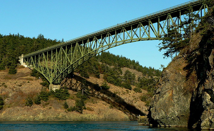 Мост «Обманный путь» в Сиэтле