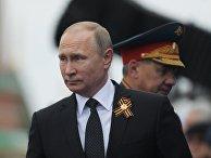 Президент России - Верховный Главнокомандующий Вооружёнными Силами РФ Владимир Путин
