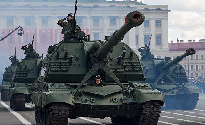 Самоходная артиллерийская установка «Мста-С»