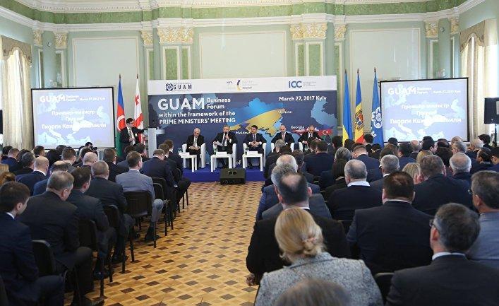 Бизнес-форум ГУАМ в Киеве