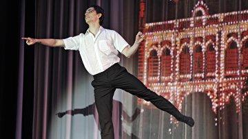 Сергей Полунин во время выступления звезд мирового балета