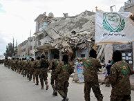 Боевики из вооружённо коалиции «Джейш аль-Фатх» (запрещена в РФ)