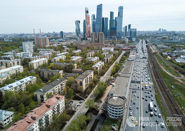 Пятиэтажные жилые дома в районе Камушки в Москве, включенные в программу реновации