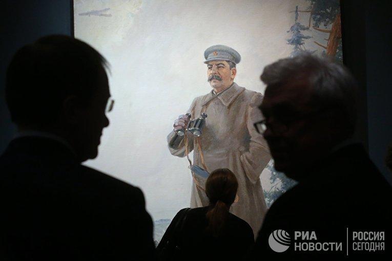Картина Александра Герасимова «И.В. Сталин» (1944)