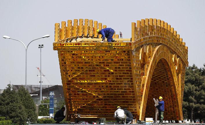 Пекин накануне форума «Один пояс и один путь»