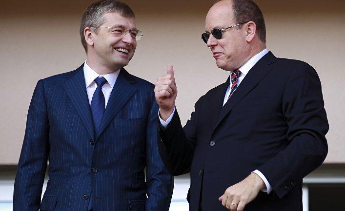 Дмитрий Евгеньевич Рыболовлев и принц Альбер II