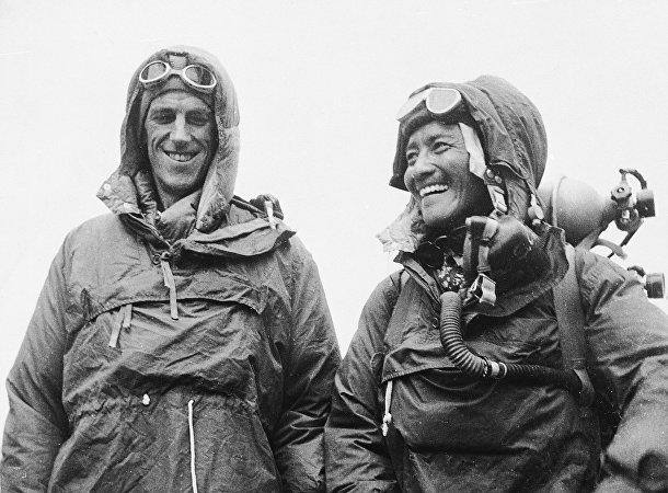 Участники экспедиции на Эверест 1953 года