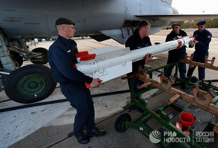 Летно-тактические учения истребительного полка в Приморском крае