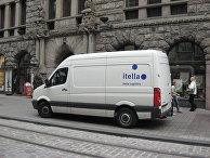 Автомобиль компании Itella Logistics
