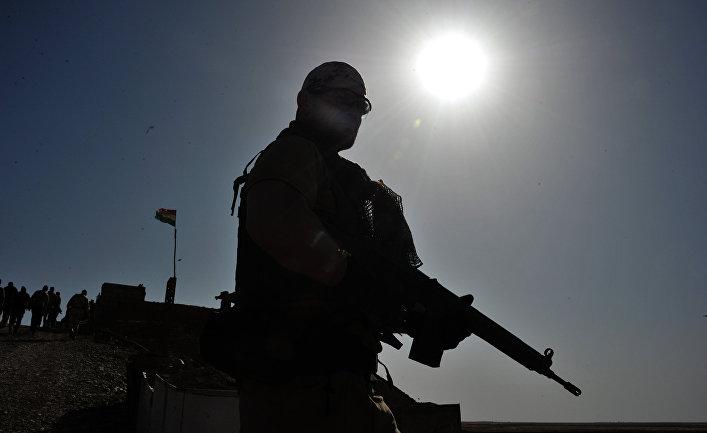 Волонтер курдской пешмерга
