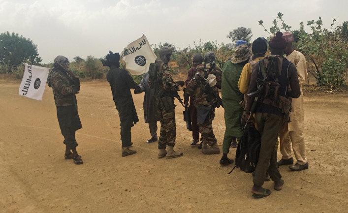 Боевики исламистской группировки «Боко Харам»